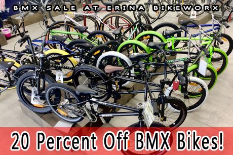 BMX Sale at ERINA BIKEWORX